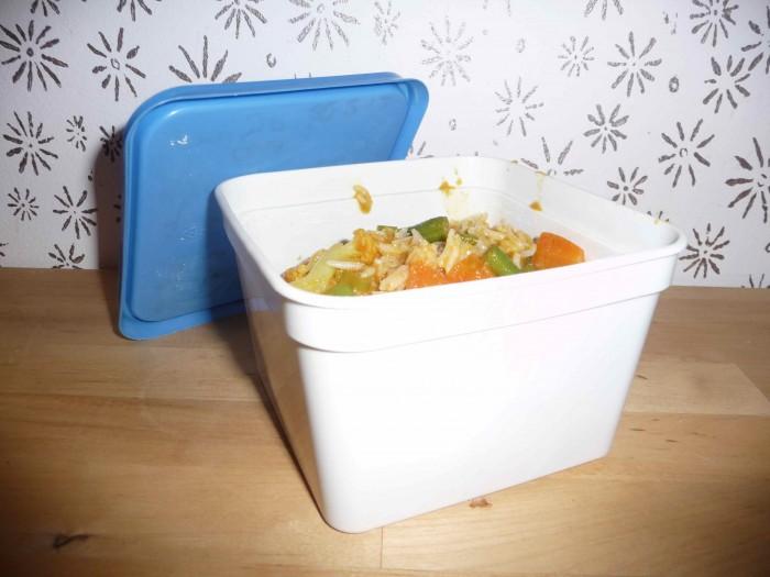 Curry uit de diepvries