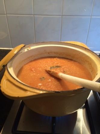 Masoor dal soep