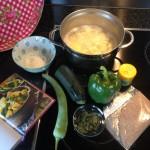 Curry-bijgerecht ingredienten
