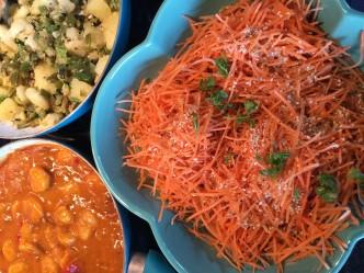 wortelsalade en curry